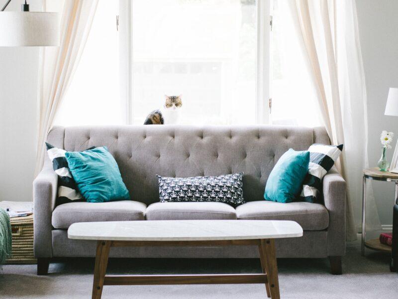 Låna möbler med Furnlease